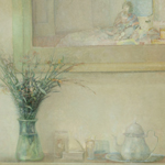 Still Life with Moroccan Tea Pot - Oil on Board