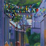 Carnival time, St Columb - artwork by Tom Henderson Smith
