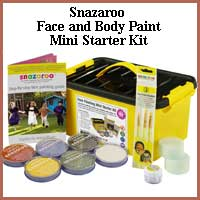 Snazaroo Face and Body Paint Mini Starter Kit