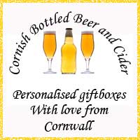 Personalised giftboxes from Cornwall