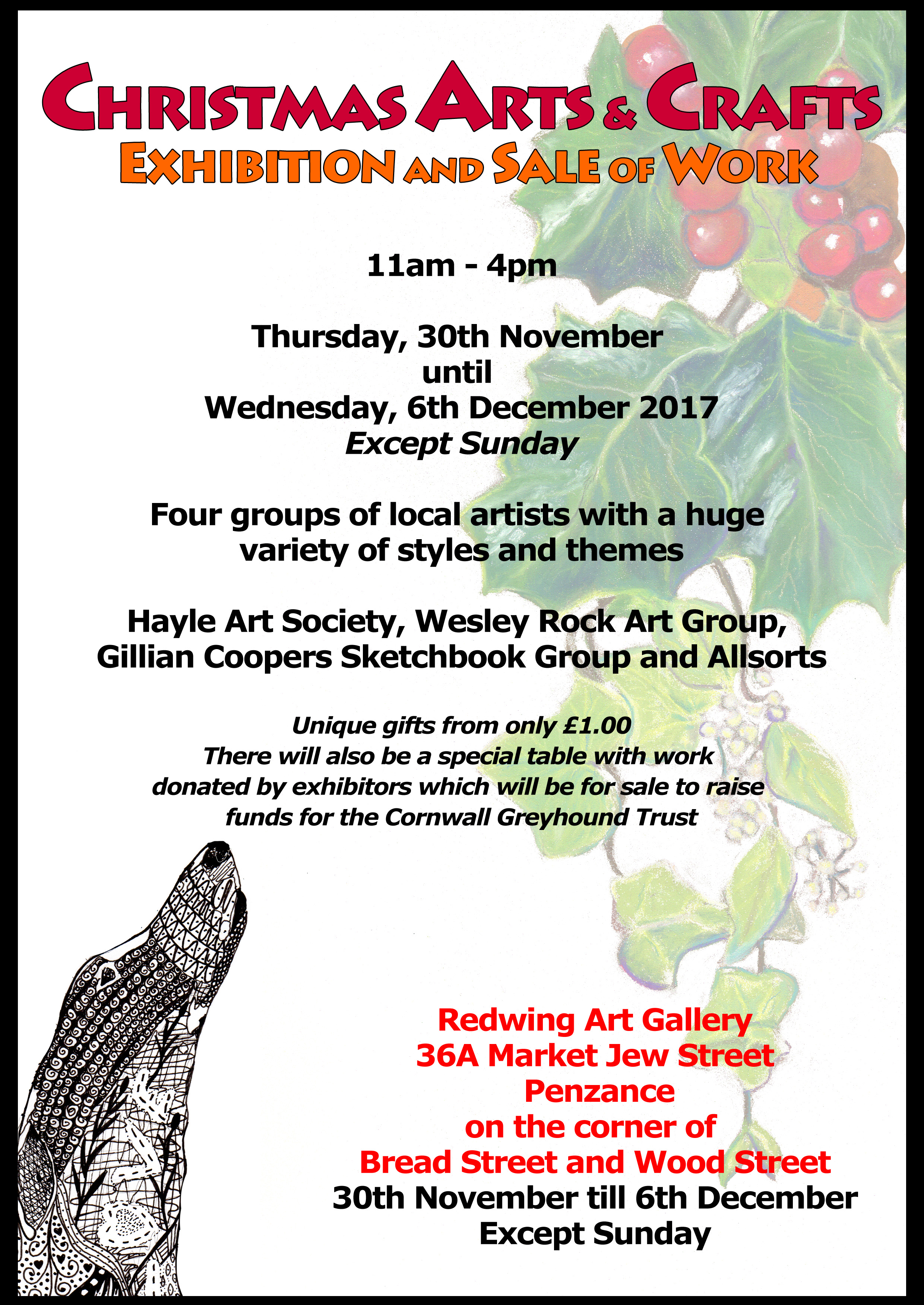 Christmas arts and crafts exhibition and sale of work for Jamaican arts and crafts for sale